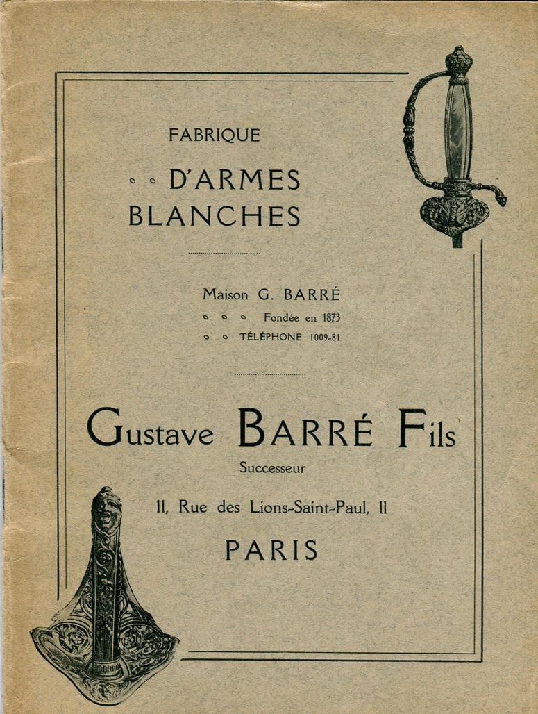 Un sabre napoléonien inhabituel sur un hussard de 1907 Couver17