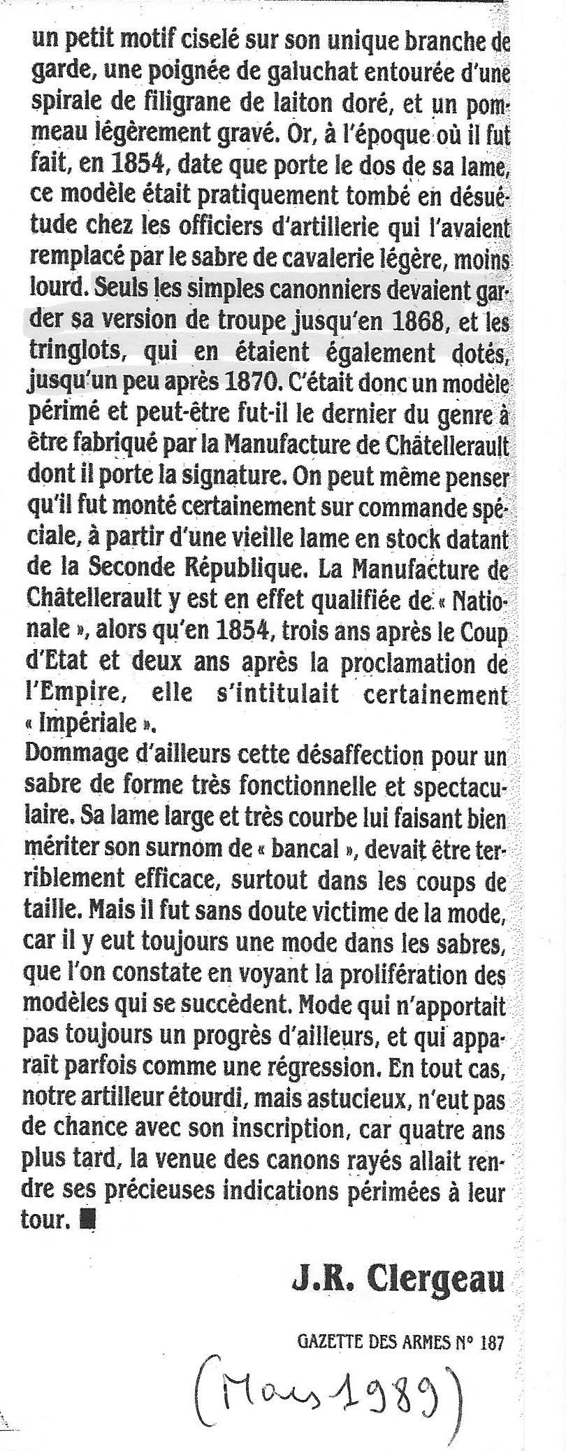 TABLE DE TIR pour officier d'artillerie sabre Mle 1829 Im_310