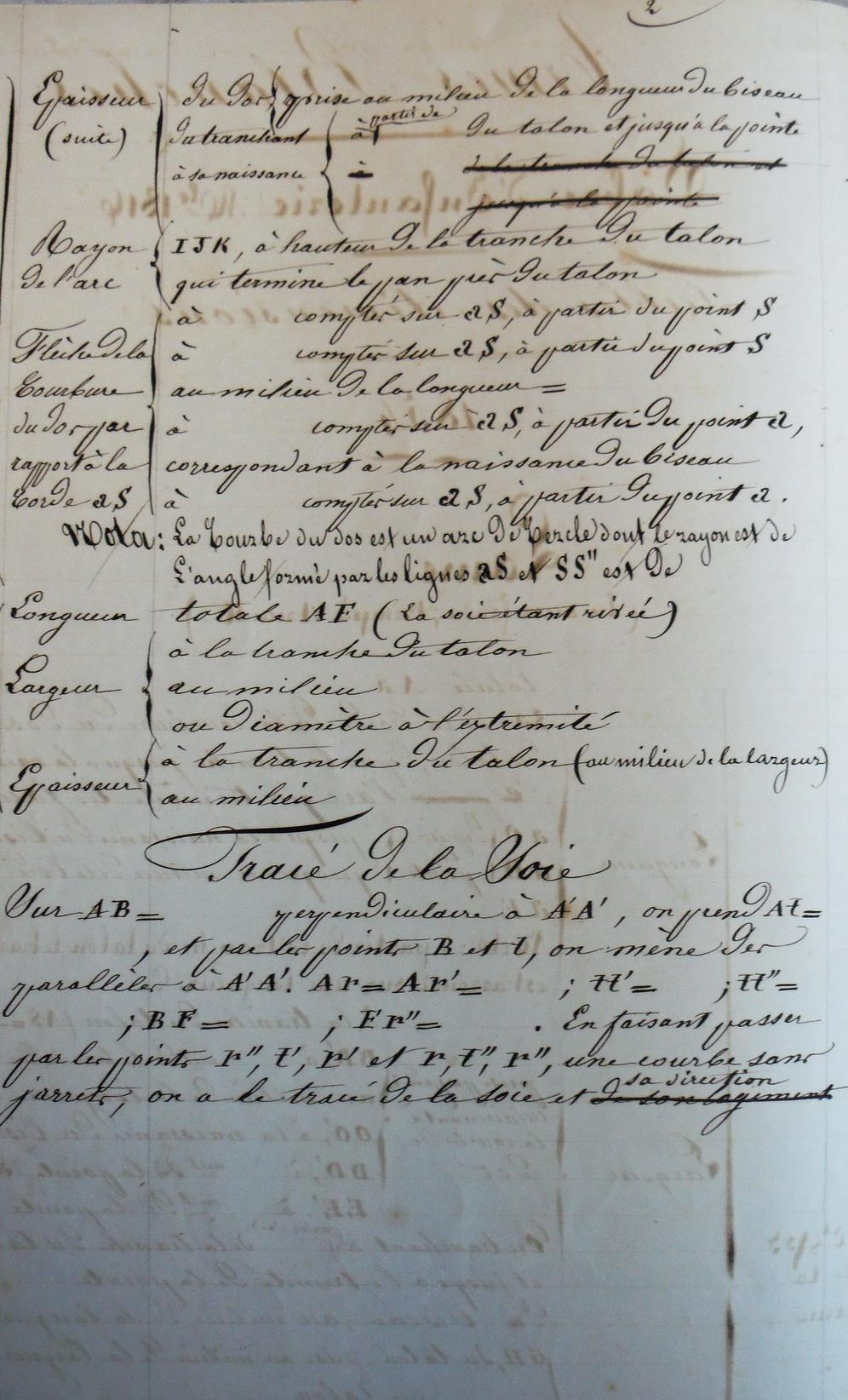Les sabres briquets 2nde partie : de l'an IX à 1854 - Page 2 Imgp2810