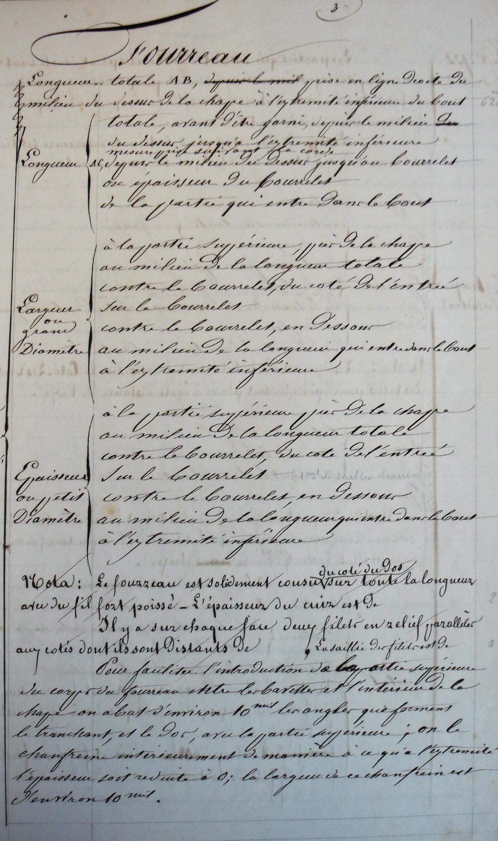 Les sabres briquets 2nde partie : de l'an IX à 1854 - Page 2 Imgp2811