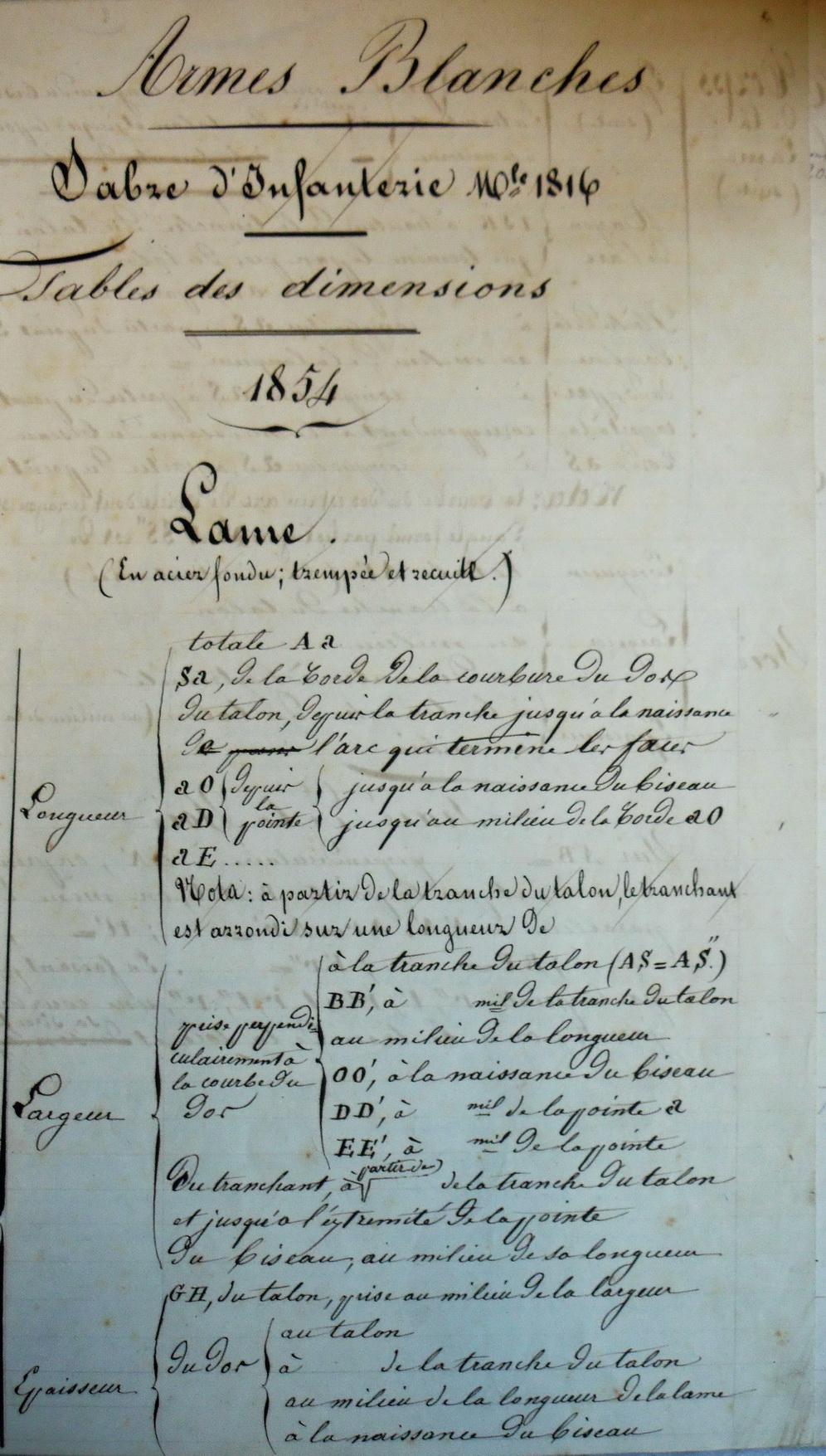 Les sabres briquets 2nde partie : de l'an IX à 1854 - Page 2 Imgp2812