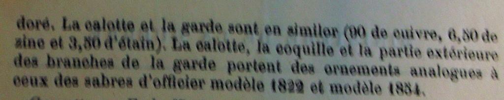Un modèle injustement mésestimé : le sabre d'officier de cavalerie Mod 1882 Imgp3014