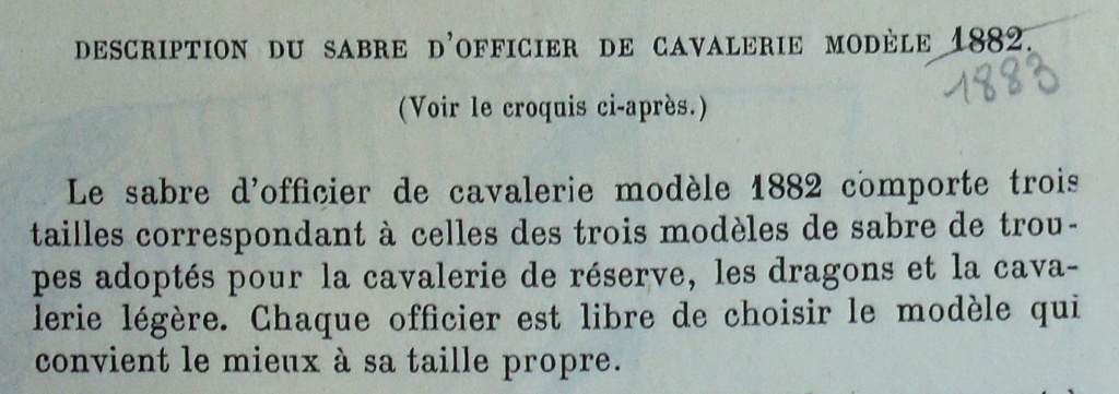 Cavalerie de ligne, 1822, officier, lame 90 cm Imgp3021