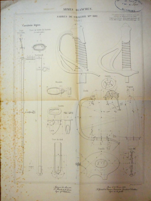 Un modèle injustement mésestimé : le sabre d'officier de cavalerie Mod 1882 Imgp3313