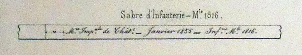 Les sabres briquets 2nde partie : de l'an IX à 1854 - Page 2 Imgp3424