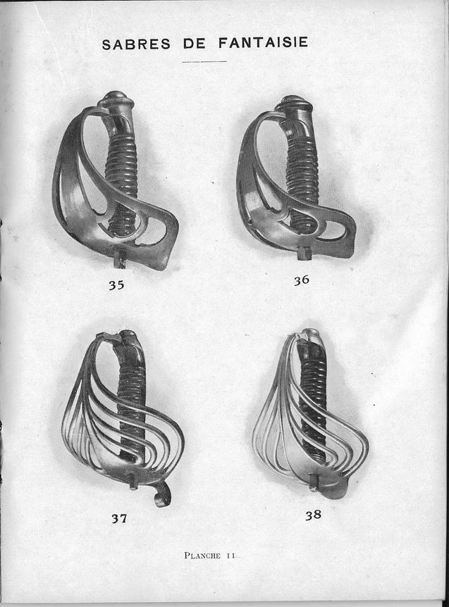 Sabre fantaisie de cavalerie garde à 9 branches Planch12