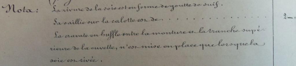 Sabre français Rivure10