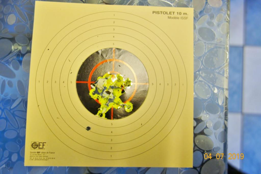 centre pour cible extra pour visualisation impact ! Dsc02823