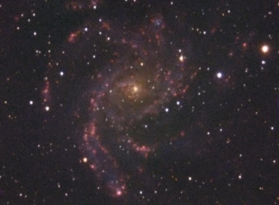 Premières lumières sur la galaxie du feu d'artifice _firew10