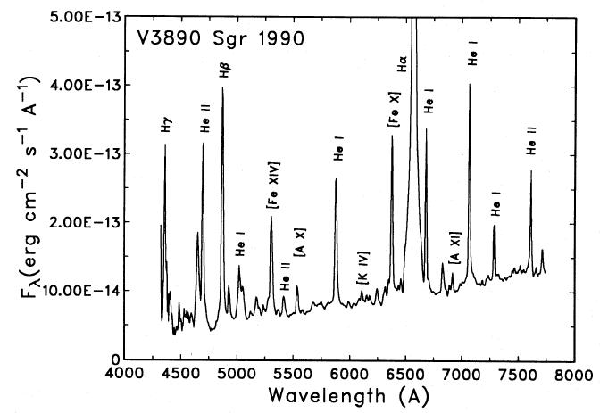 Nova récurrente V3890 dans le Sagittaire Outbur10