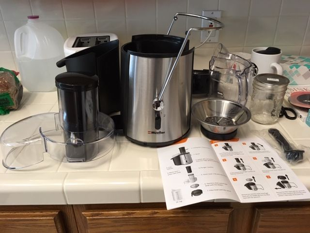 Guess what Santa brought me Juicer10