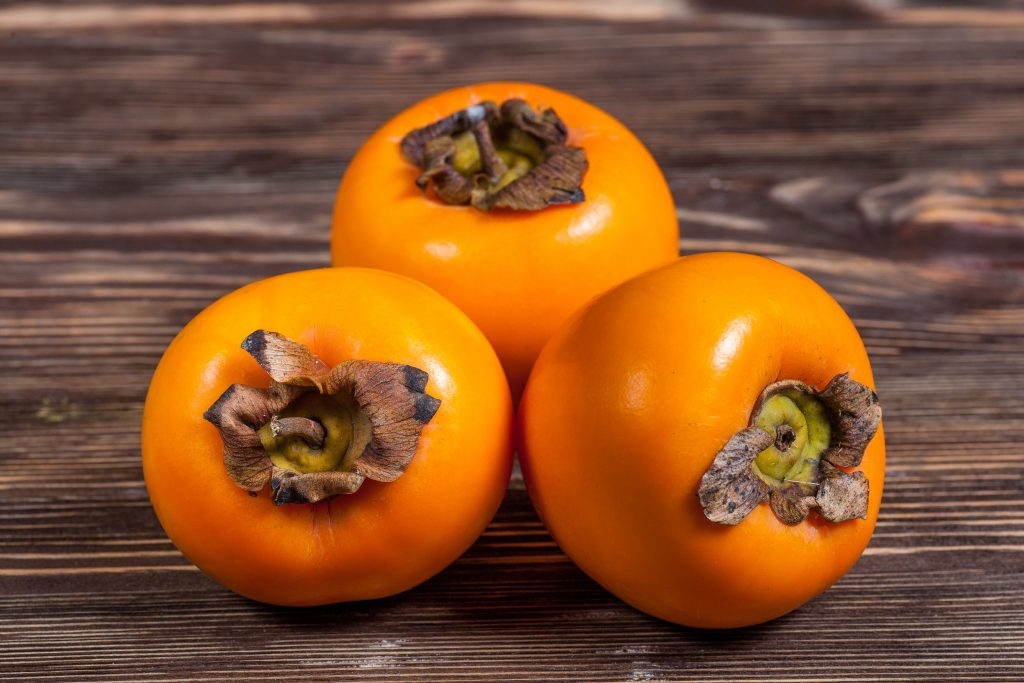 What kind of fruit is this? Persimmon Persim10