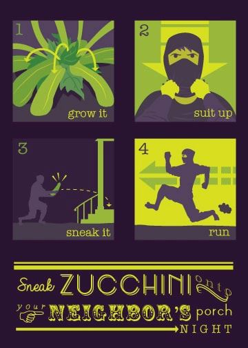 You may have too much Zucchini, when..... Zucchi10