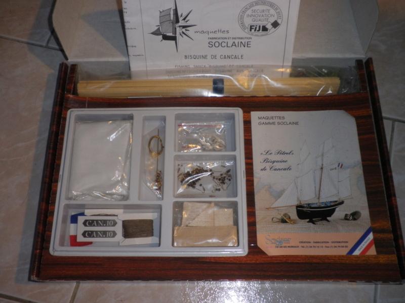 BISQUINE DE CANCALE  1908   1/50    SOCLAINE Pa050710