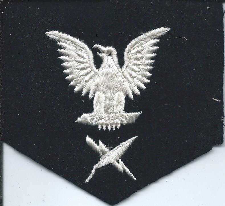 U.S. Navy Rating Badges Split Rates E3_31g11