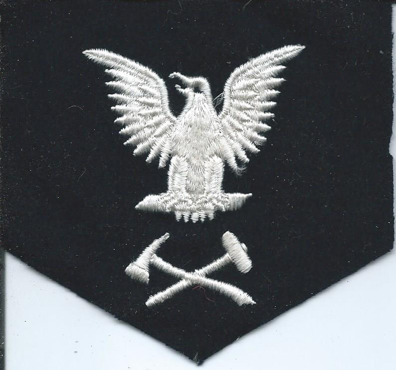U.S. Navy Rating Badges Split Rates E3_36g11