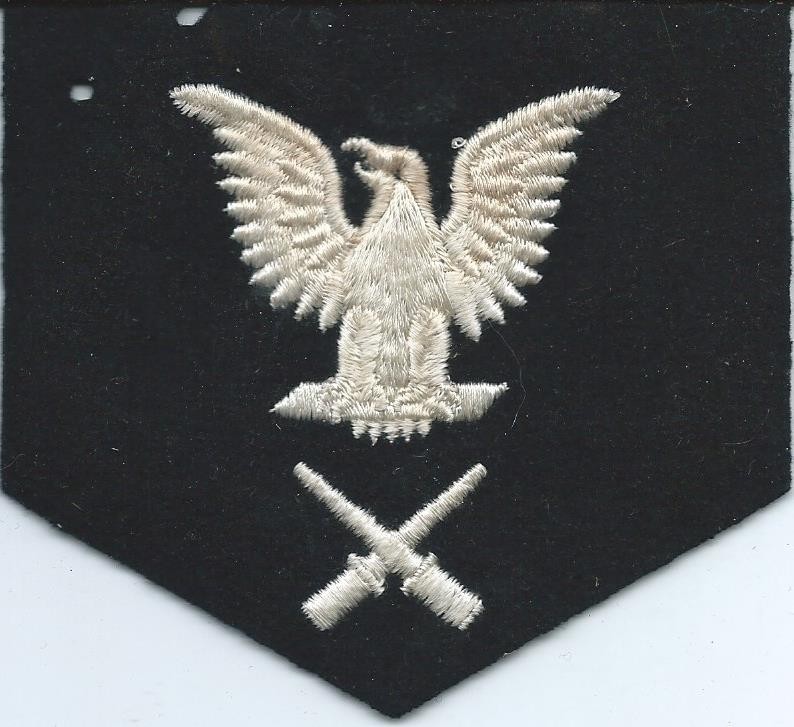U.S. Navy Rating Badges Split Rates E3_52g10