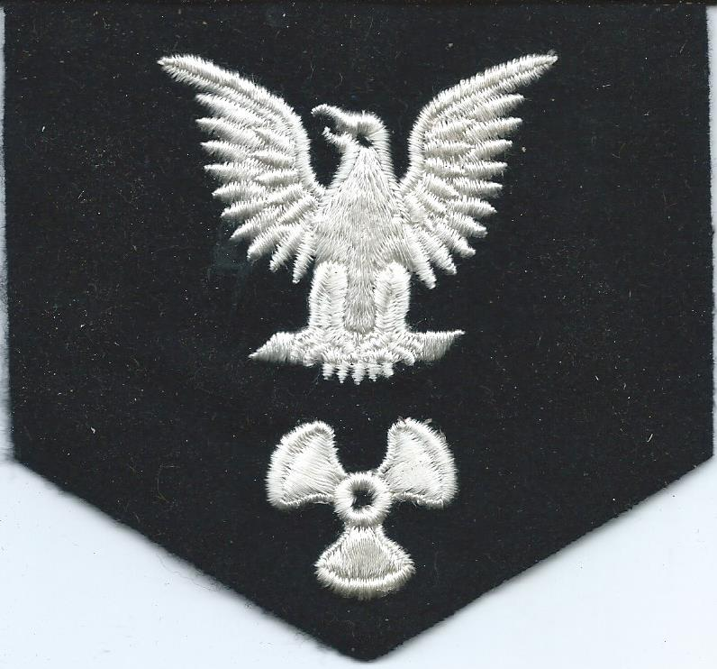 U.S. Navy Rating Badges Split Rates E3_77g10