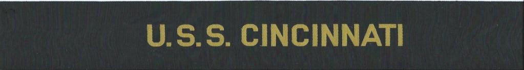 U.S. Navy Cap Taillies - Rubans Légendés Uss_ci10