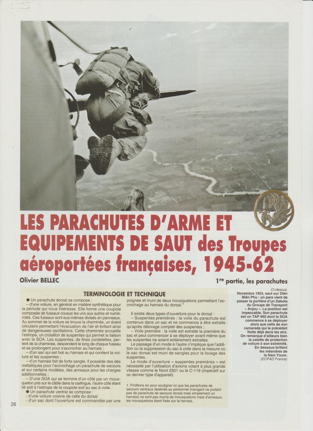 Equipements TAP-Parachutes et gaines 0114