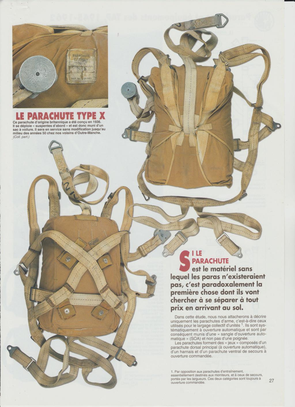 Equipements TAP-Parachutes et gaines 0214