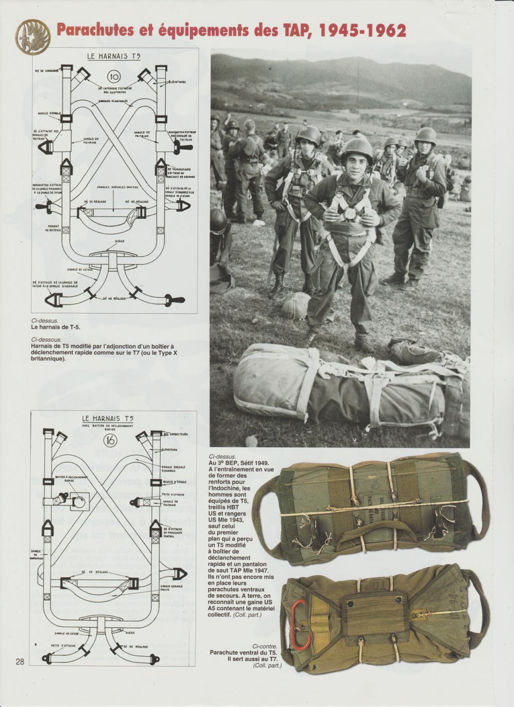 Equipements TAP-Parachutes et gaines 0314
