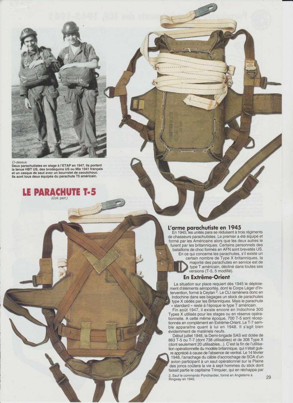 Equipements TAP-Parachutes et gaines 0414