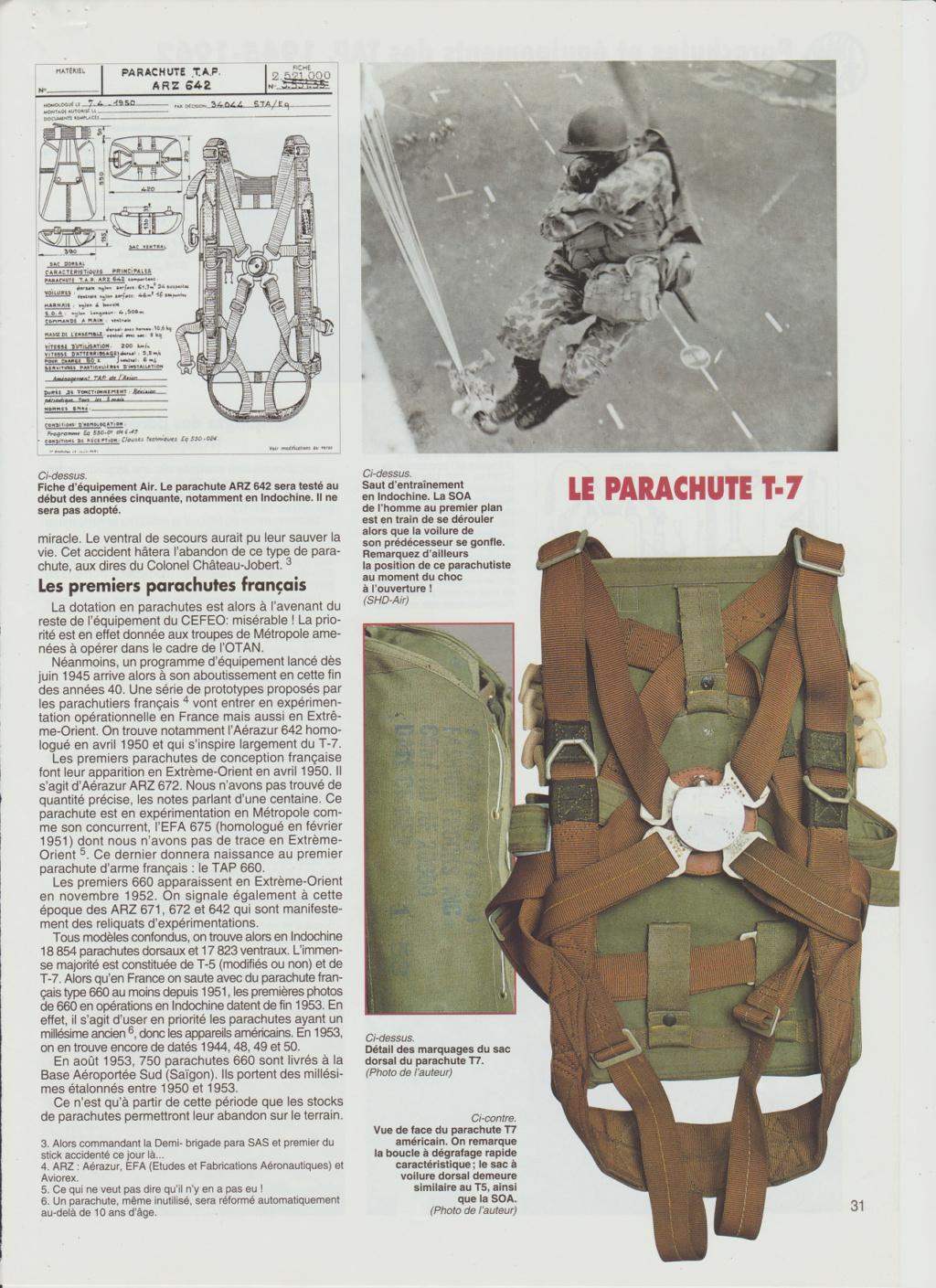 Equipements TAP-Parachutes et gaines 0612
