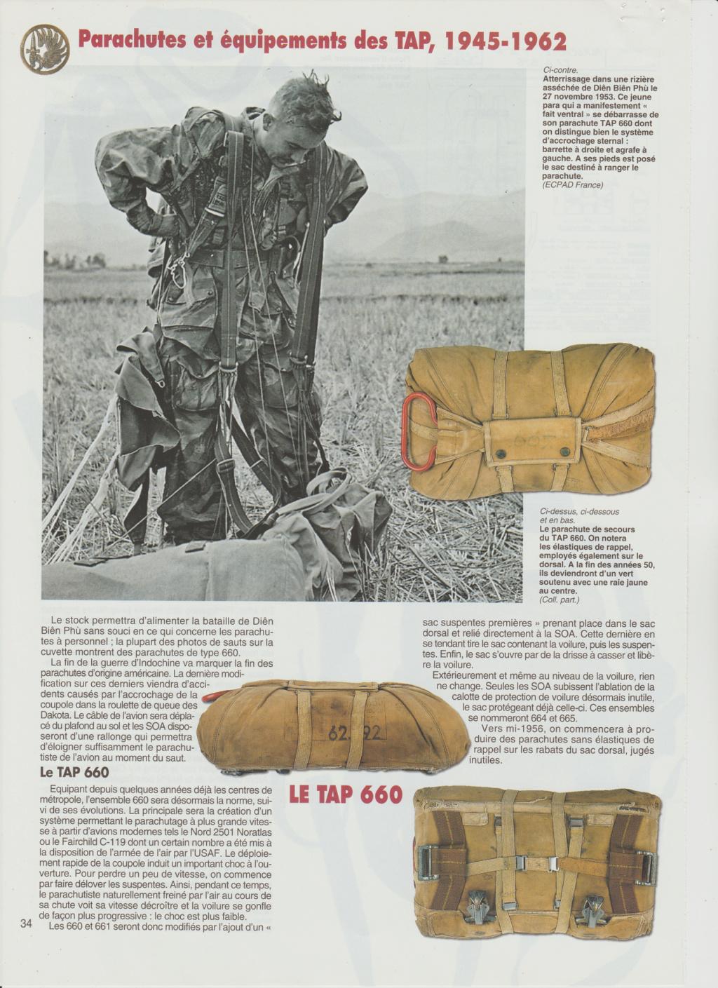 Equipements TAP-Parachutes et gaines 0910