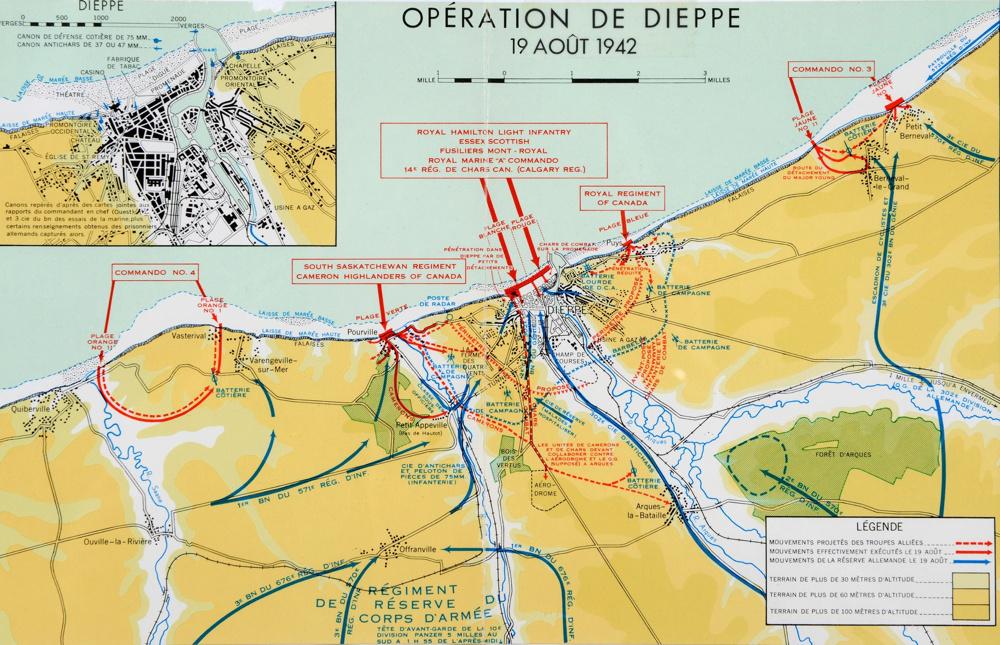 Opération. Jubilee - deux divisions Canadiennes a l'assaut de Dieppe  14704110