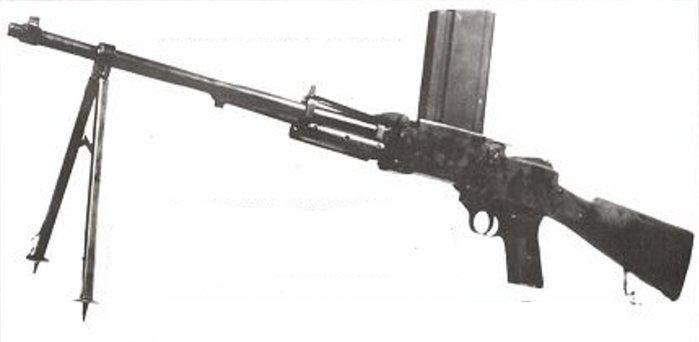 Fusil mitrailleur SE MAS 2-38 et son successeur SE MAS 1940 17021-10