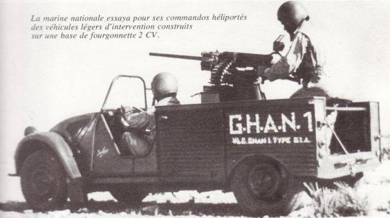 JULES. Une 2cv canon  4b17eb10
