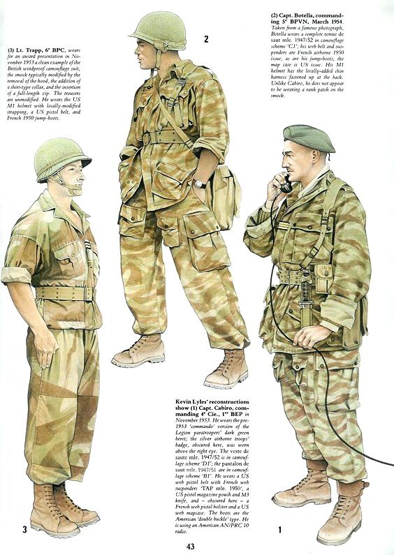 Planches uniformes Armée Française.... 558e4210