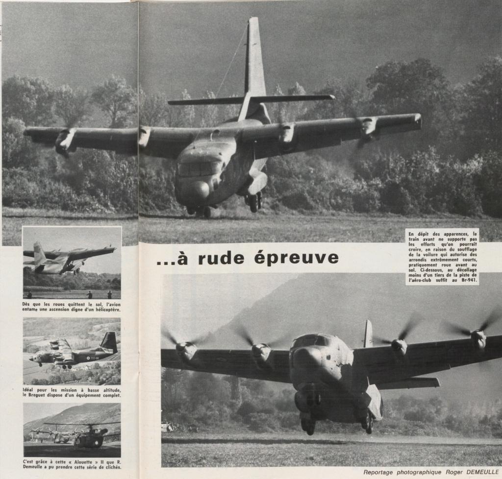 Breguet 940/941 : l'invention de l'ADAC . 94111
