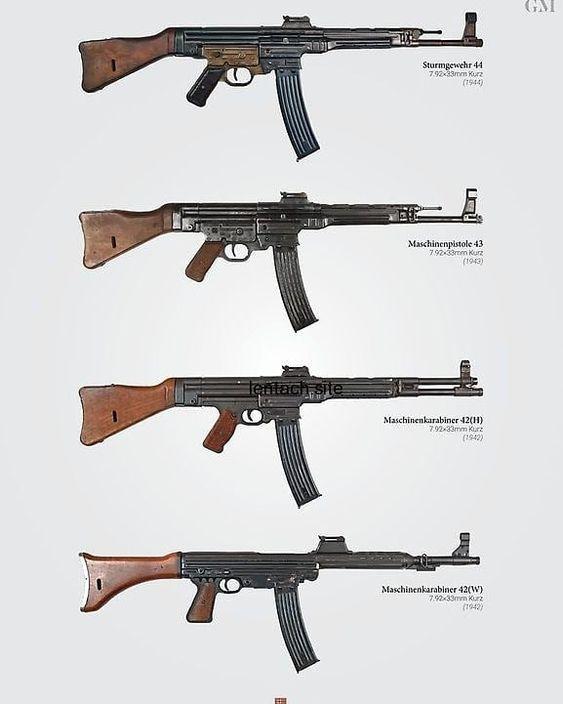 Arme miracle du Reich: fusil d'assaut StG 44 (canon incurvé et viseur infrarouge) A3d9b010