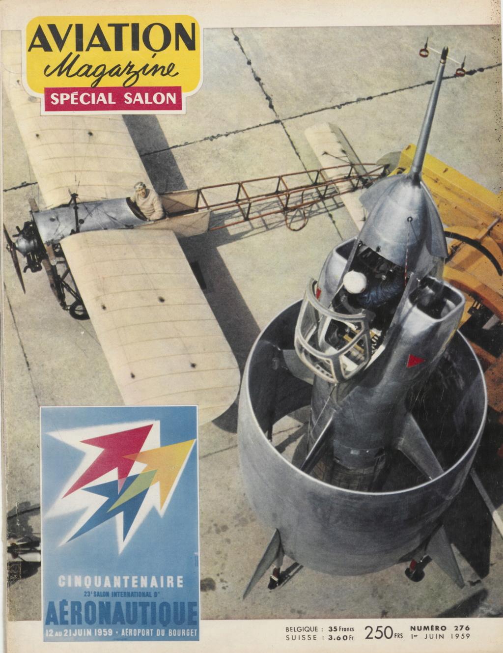 Il y a 60 ans, l'aventure du révolutionnaire projet d'avion C-450 « Coléoptère » prenait fin  . Aviati16