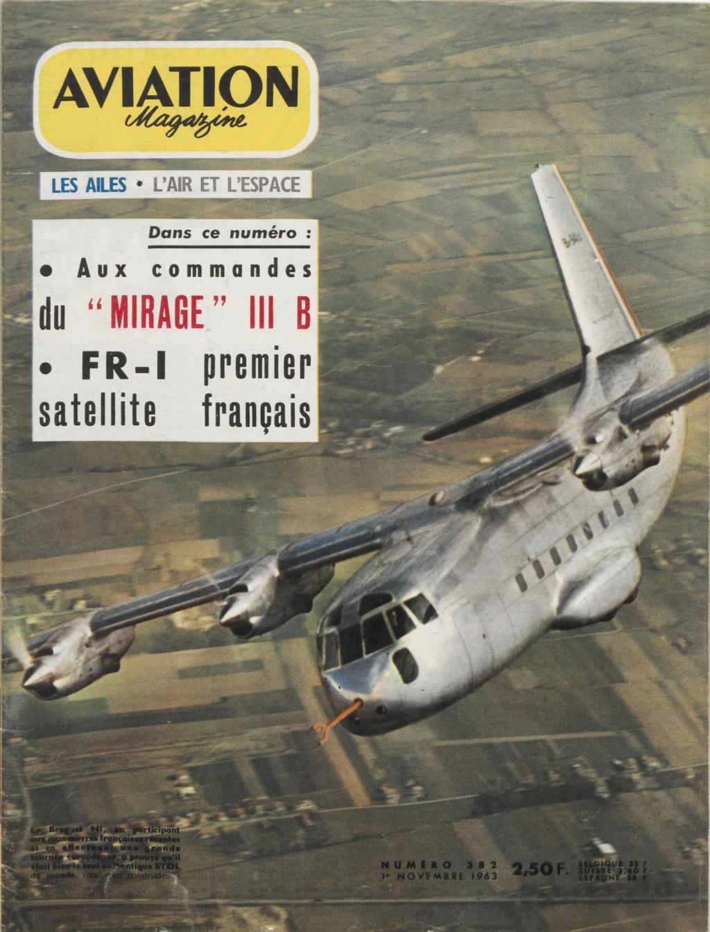 Breguet 940/941 : l'invention de l'ADAC . Aviati26