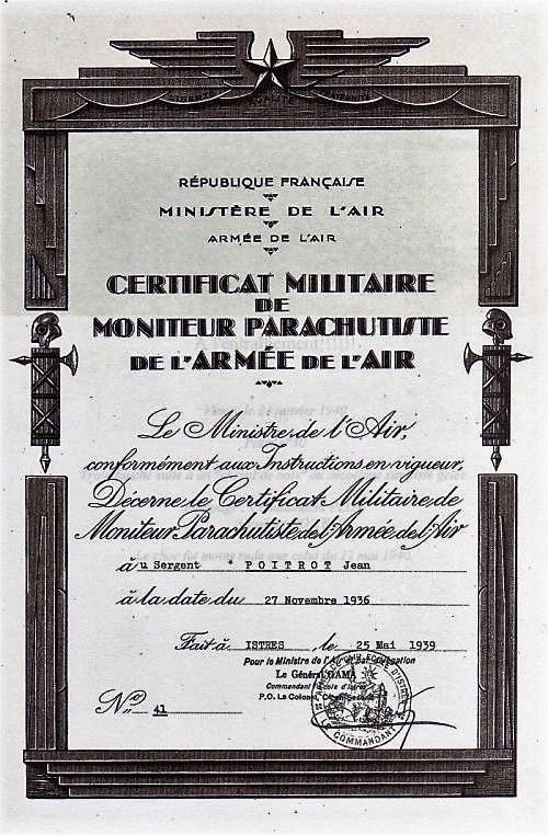 brevet para argent numéro 41 Brevet10