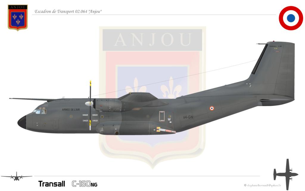 Escadron De Transport 2/64 Anjou C160ng10