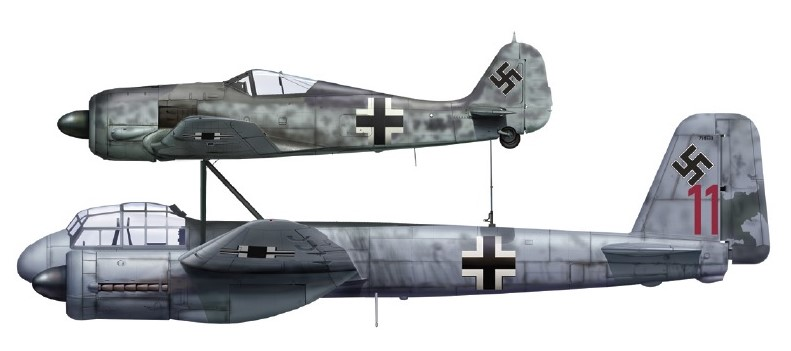 Junkers Mistel . Cc10