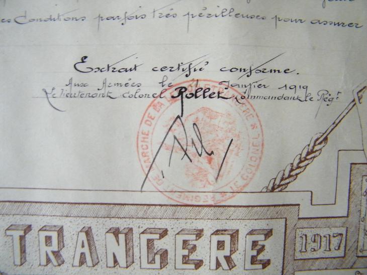 Général ROLLET : Le Père Légion . Dscf1410