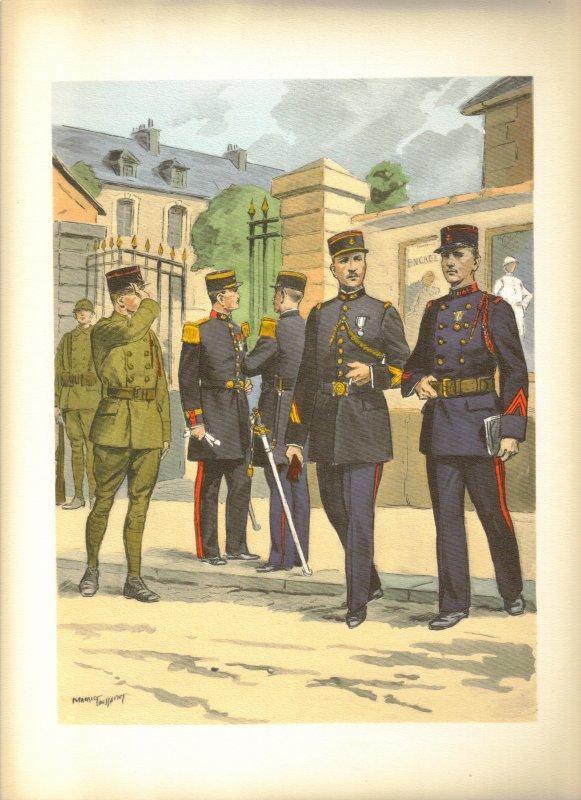 Planches uniformes Armée Française.... - Page 4 Inf_co23