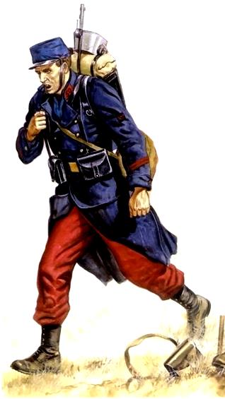 Planches uniformes Armée Française.... - Page 4 Infant13