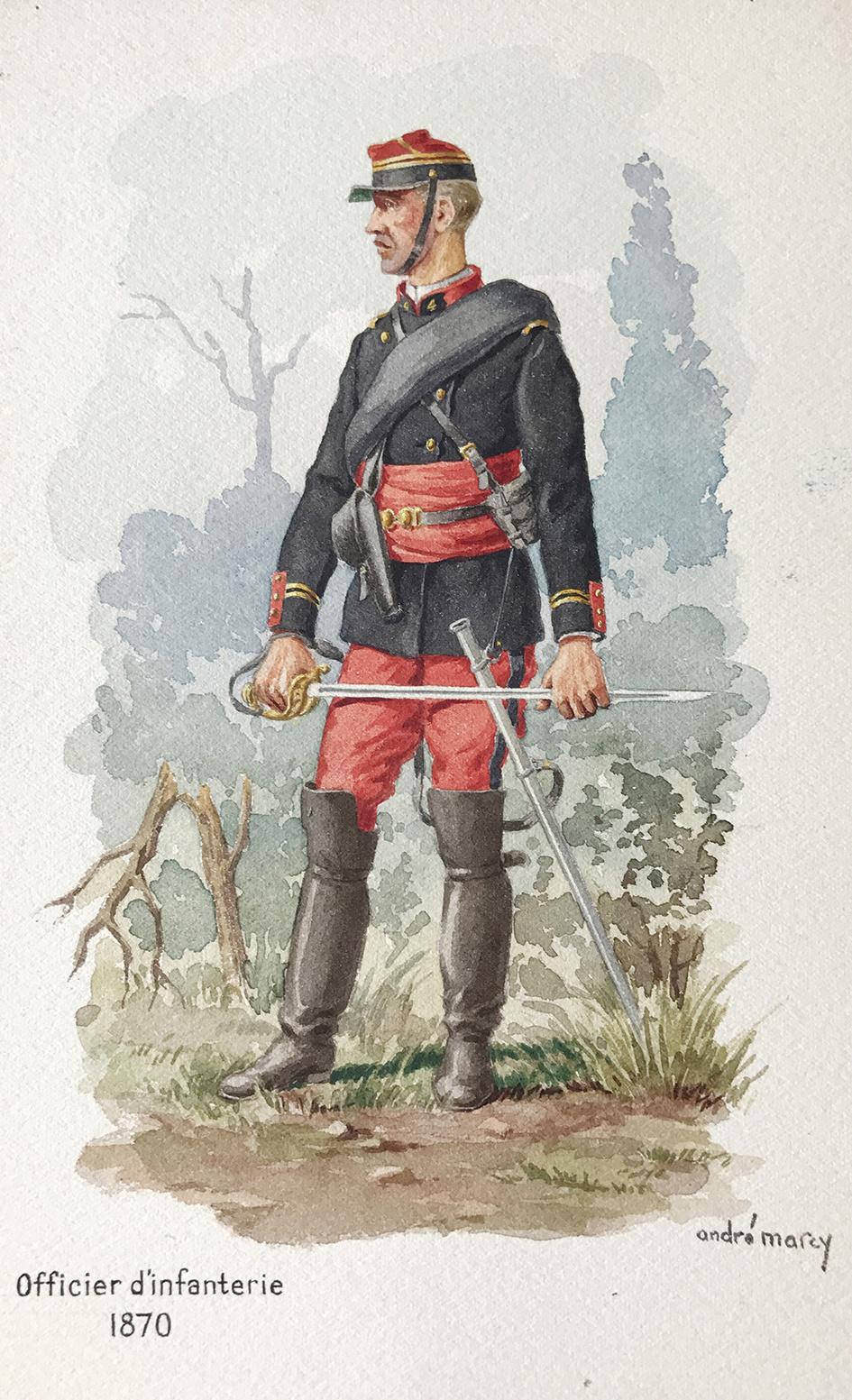 Planches uniformes Armée Française.... - Page 4 Infant15