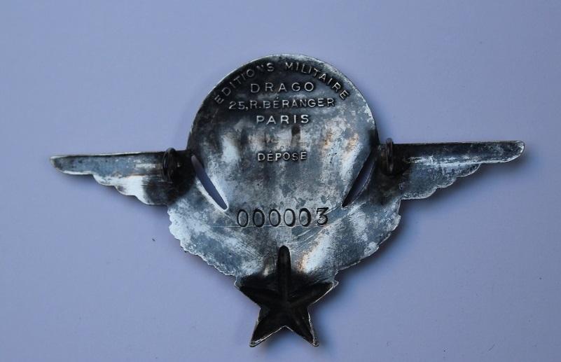 brevet para argent numéro 41 Insign10