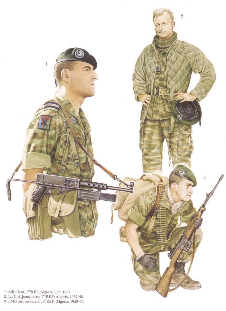 Planches uniformes Armée Française.... Legion14