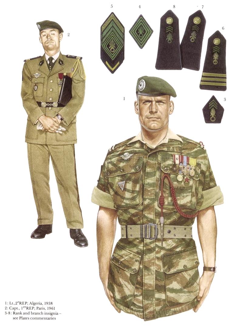 Planches uniformes Armée Française.... Legion15