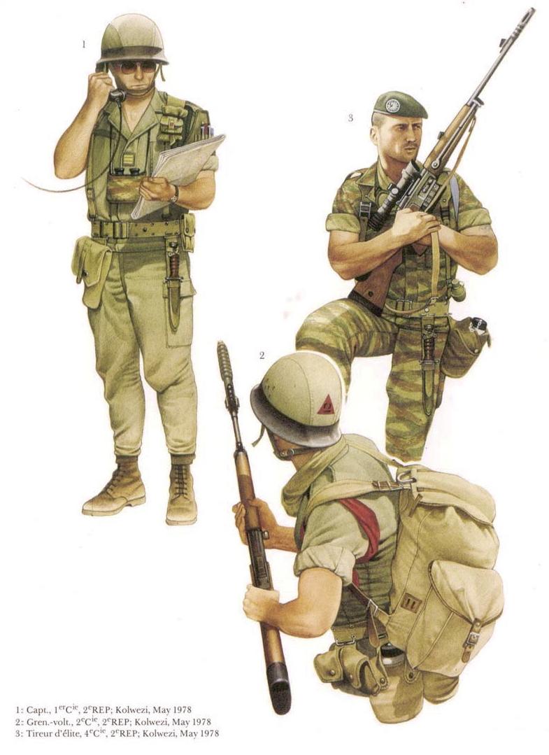 Planches uniformes Armée Française.... Legion16
