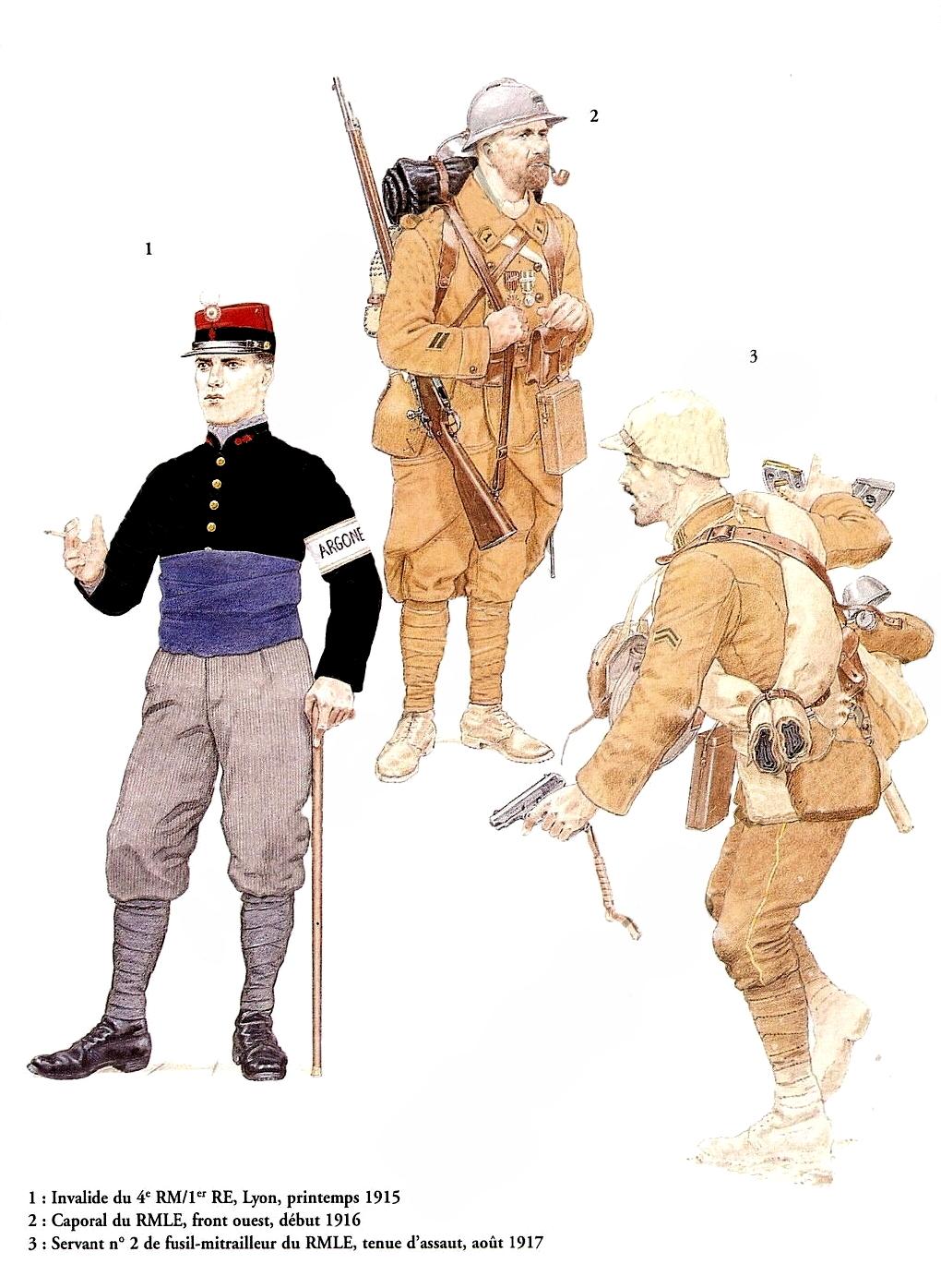 Planches uniformes Armée Française.... Legion17