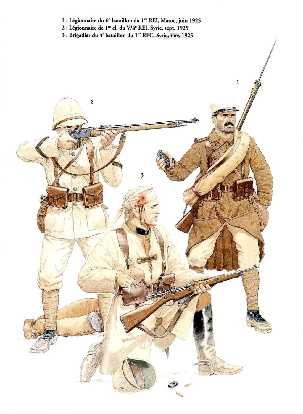 Planches uniformes Armée Française.... Legion18